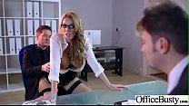 (Stacey Saran) Busty Slut Office Girl Love Hard...