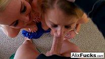 Alix Lynx Hot Blowjob preview image