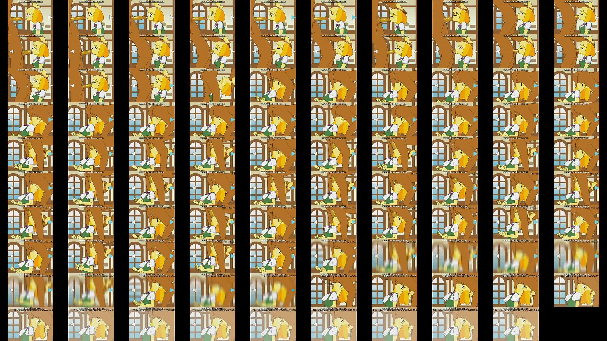 Animal Crossing Mayor Porn Mayor isabelle sucking the mayor/ sync-suck cover - xvideos