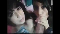 Dos morritas mamando verga pornhub video