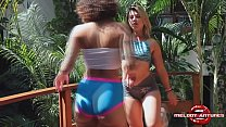 The Best Lesbian Porn of Brazil With Melody Antunes and Nina Forbidden