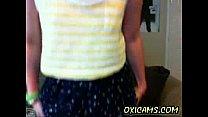 Hot Babe On Webcam Amateur 40