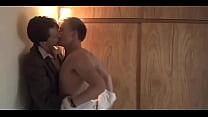 Angus McLaren and Jacob Collins-Levy Gay Kiss from TV show Bloom | gaylavida.com