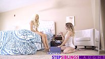 stepsiblingscaught step brother crashes sisters pajama party 9 tube Vorschaubild