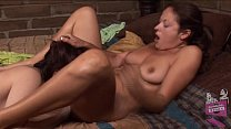 Dana DeArmond and Elexis Monroe Lesbian Orgasms