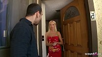 Hot Mom Diana Doll applies for Porn and Rough Fuck at Casting