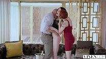 VIXEN Adventurous Beauty Has Passionate Sex With A Power Couple thumbnail