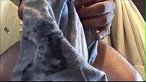 Cumshot in my mother-in-law panties