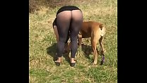Outdoor Flashing - Pantyhose Pants