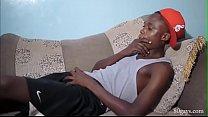 African Twink Eugune Beats Off