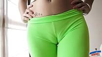 Brazzershd.Net ⁃ Perfect Ass Teen in Ultra Tight Leggins! Ass! Cameltoe! See thumbnail