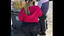 somebody's thick ass Hispanic grandma I spotted by fruit stand in L.A.