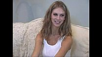 Big Boobed french blonde Stella Delcroix visits private's casting couch