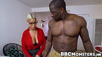 Naughty Bridgette B knows how to ride that huge...
