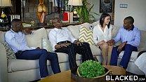 BLACKED Brunette Adriana Chechik Takes Trio of BBCs thumbnail