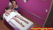Real jap masseuse tugging customers dick - 69VClub.Com