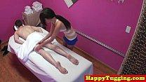 Real jap masseuse tugging customers dick - 9Club.Top