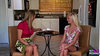SEXYMOMMA - MILF Tanya Wants Her Meaty Twat Eaten by the Teen Next Door! pornhub video