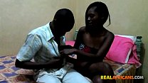 African Couple Hardcore Doggystyle