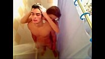 Uk amateur teen drilled in the shower-livetaboo...