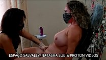 Female tantric massage on the chair for Natasha...