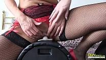 OldNannY Lesbian Ladies Fucking Electric Machine