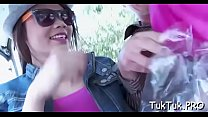 Hot asian babe loses her mind while being drilled so rough