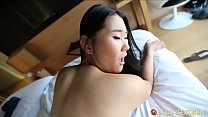 Chinese porn slut gets surprised by super-fans skilled white cock