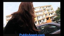 PublicAgent Married redhead Does Anal in the Cellar thumbnail