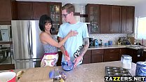 Veronica Avluvs pussy loves riding huge cock Preview