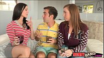 Kendra Lust and Maddy Oreilly horny orgy preview image