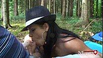 Perverse Waldspiele mit junger Lady Amanda Jane - SPM Amanda20TR26 video