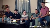 Brazzers - Mommy Got Boobs -  My Friends Fucked My Mom scene starring Ryan Conner, Jordi El Ni&ntild Image