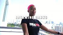 Jasamine Banks Sucks and Swallows - 69VClub.Com