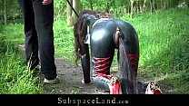 Full day exploitation of a bondage slave part 1 part 2 pornhub video