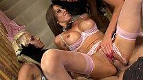 4K pornstar orgy - mature MILF XXX whores