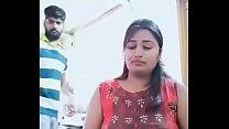 Swathi naidu enjoying while cooking with her boyfriend thumbnail