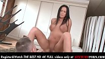 Gorgeous busty stepsister with shaved pussy gets her hot ass fucked deeply! صورة