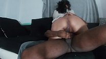 Superexplicit Interracial big booty latina takes on BBC