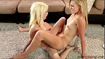 Blonde high schooler Pipper and her teacher goes pussy fingering