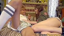 Busty tranny Kylie Maria enjoys in massive pric...