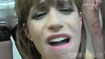 Premium Bukkake - Silvana swallows 65 huge mouthful cumshots صورة