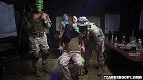 Arab sluts sneak into a military base صورة