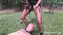 CUCKOLD HUSBAND GETS PEGGED and PISSED on plus ...
