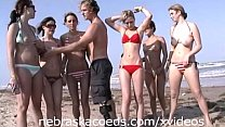 Teens Nude in Public on Beach pornhub video