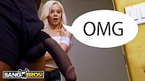 BANGBROS - Young Teen Elsa Jean Stumbles Upon Isiah Maxwell's Big Black Cock And Falls In Love video