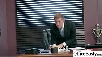 (Lauren Phillips & Lena Paul) Sexy Big Tits Office Girl Love Hard Sex clip-21 Image