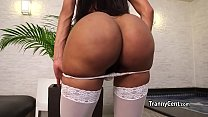 White stockings tranny fucks crazy