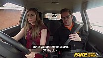 Fake Driving School Sexy Russian teacher creampied thumbnail