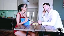 ENGLISH teacher - student role play with COLUMBIAN beauty- Andreina Deluxe - teaser
